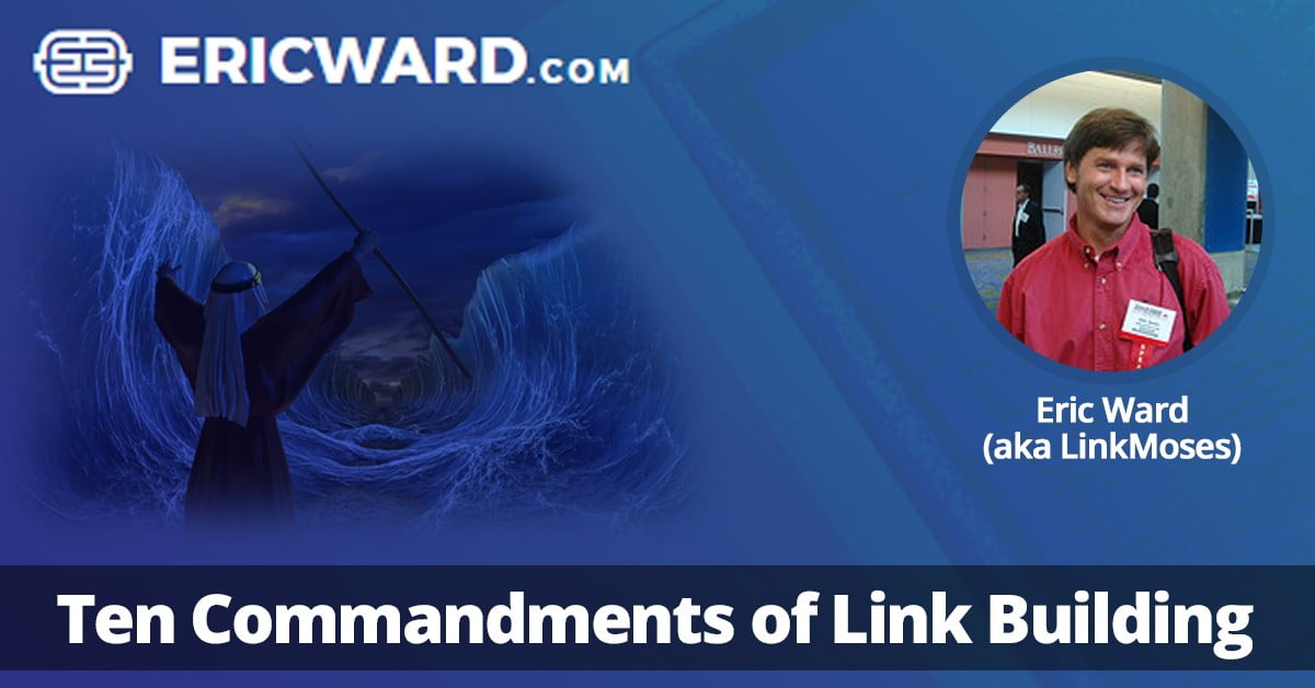 Ten Commandments of Link Building