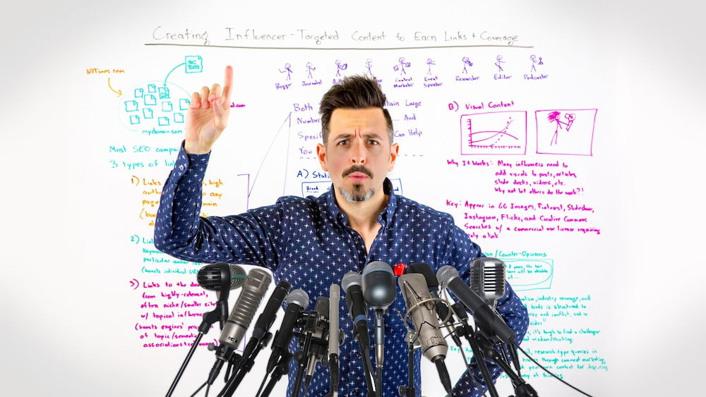 Creating Influencer-Targeted Content to Earn Links + Coverage – Whiteboard Friday