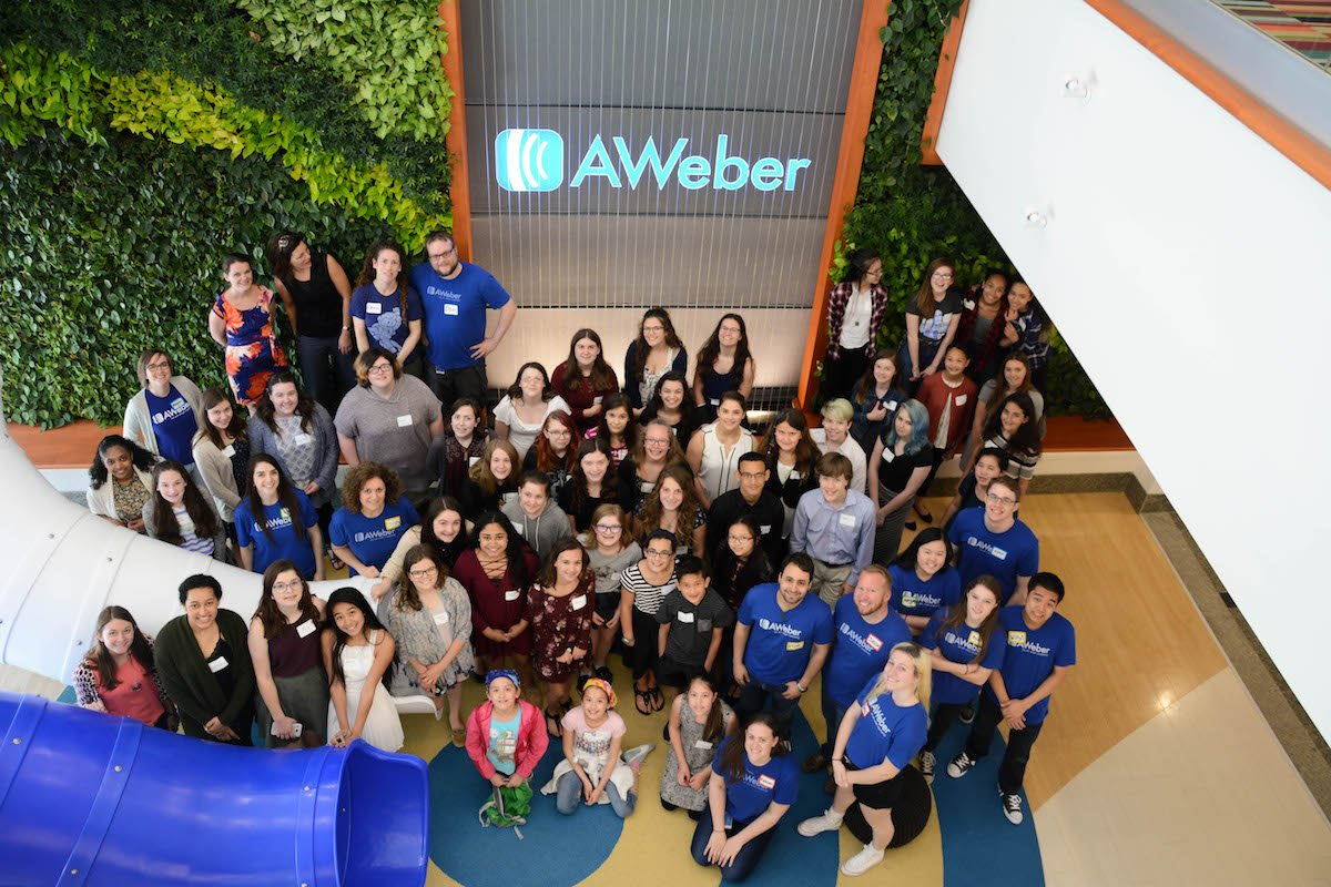 A Day in the #AWeberLife: Celebrating STEM for Kids