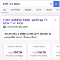 Google Reveals New Format for AdWords Price Extensions