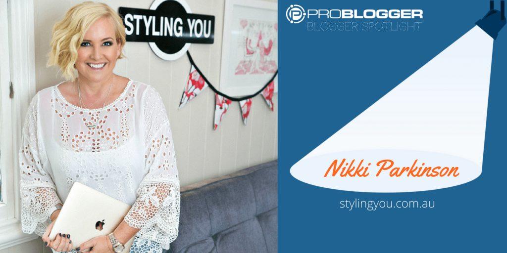 BLOGGER SPOTLIGHT Nikki Parkinson