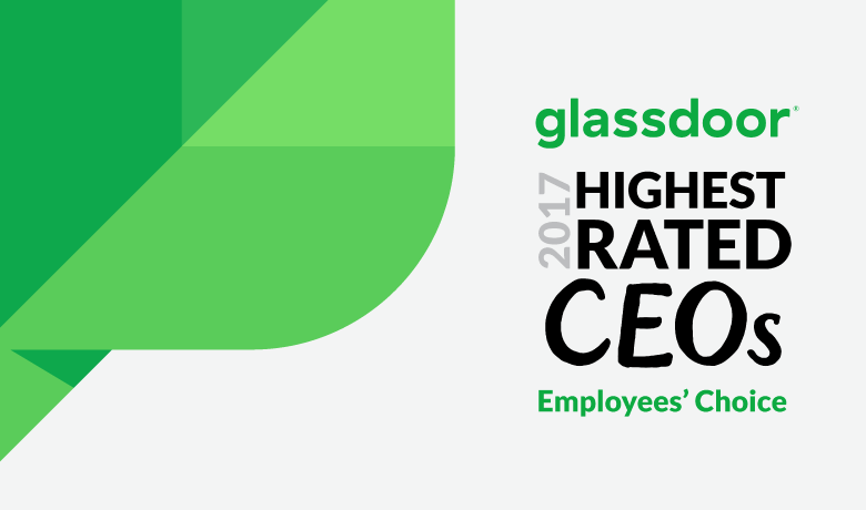 Justyn Howard Tops Glassdoor's Highest Rated CEOs of 2017 List