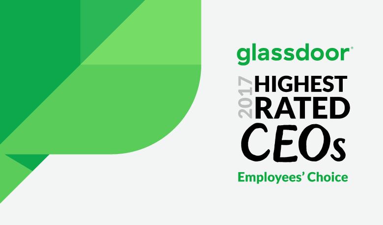 Justyn Howard Tops Glassdoor's Highest Rated CEOs of 2017 List