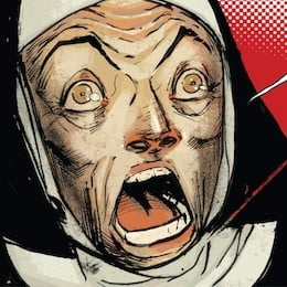 Shocked Nun