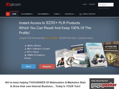 11.500+ PLR Products; eBooks, Software, Videos, Articles and more!