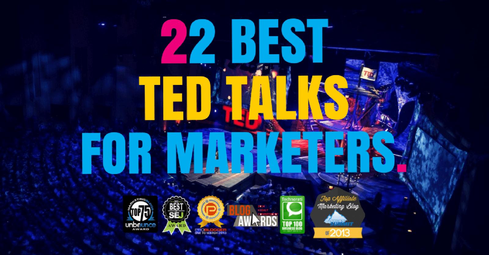 best ted talks marketing