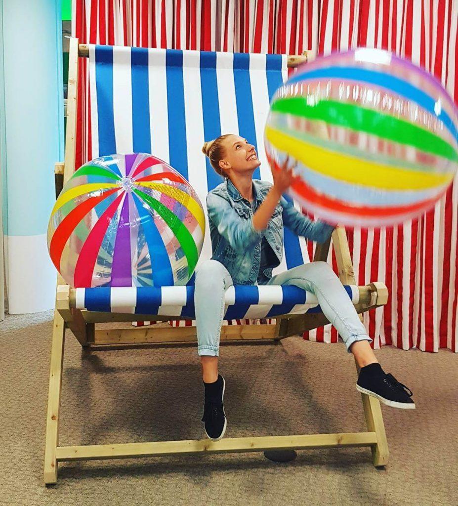 big google beach chair
