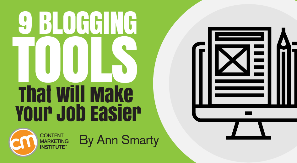blogging tools make job easier