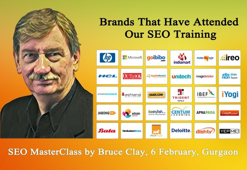 bruce clay pic and client brand logos