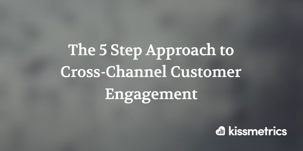 cross channel customer engagement cover image