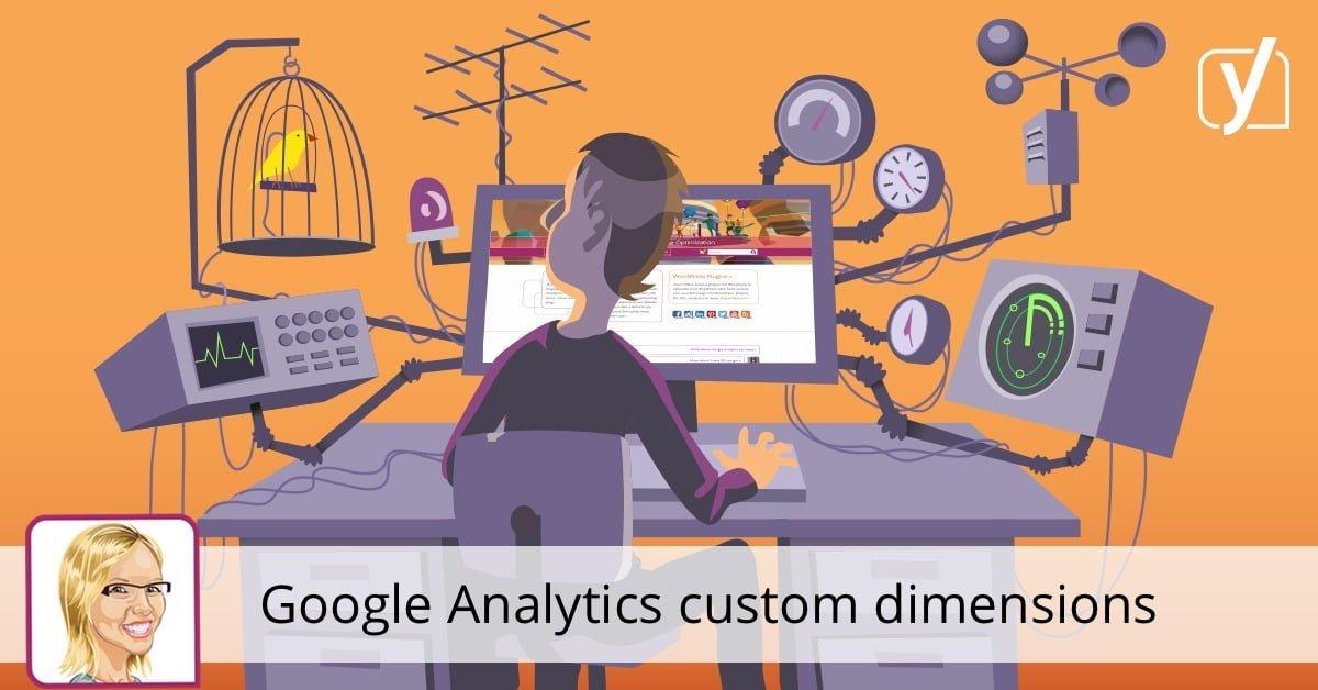 Google Analytics custom dimensions • Yoast