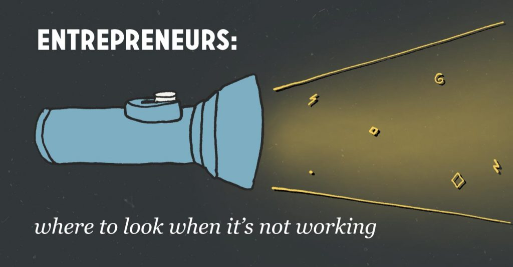 entrepreneur flashlight