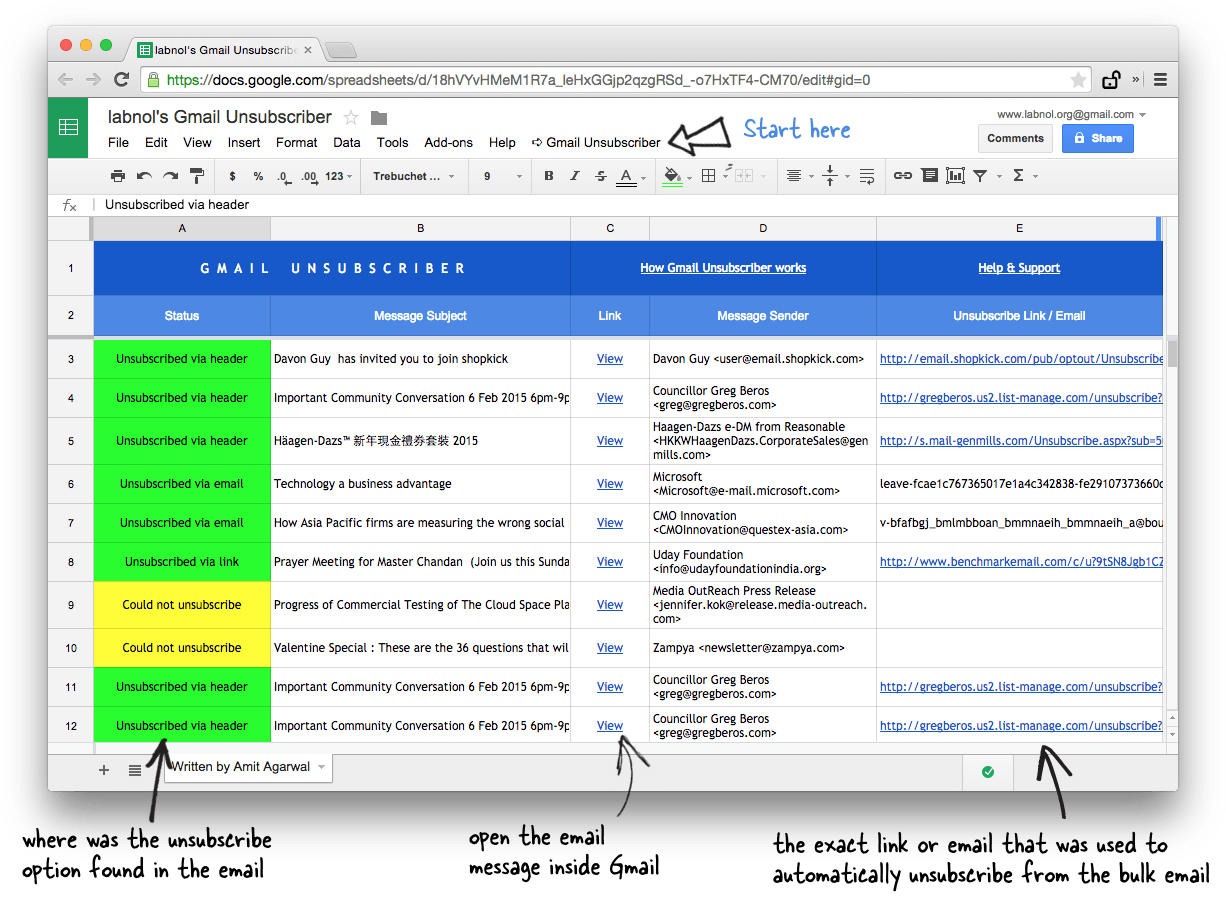 How to Easily Unsubscribe from Bulk Emails in Gmail