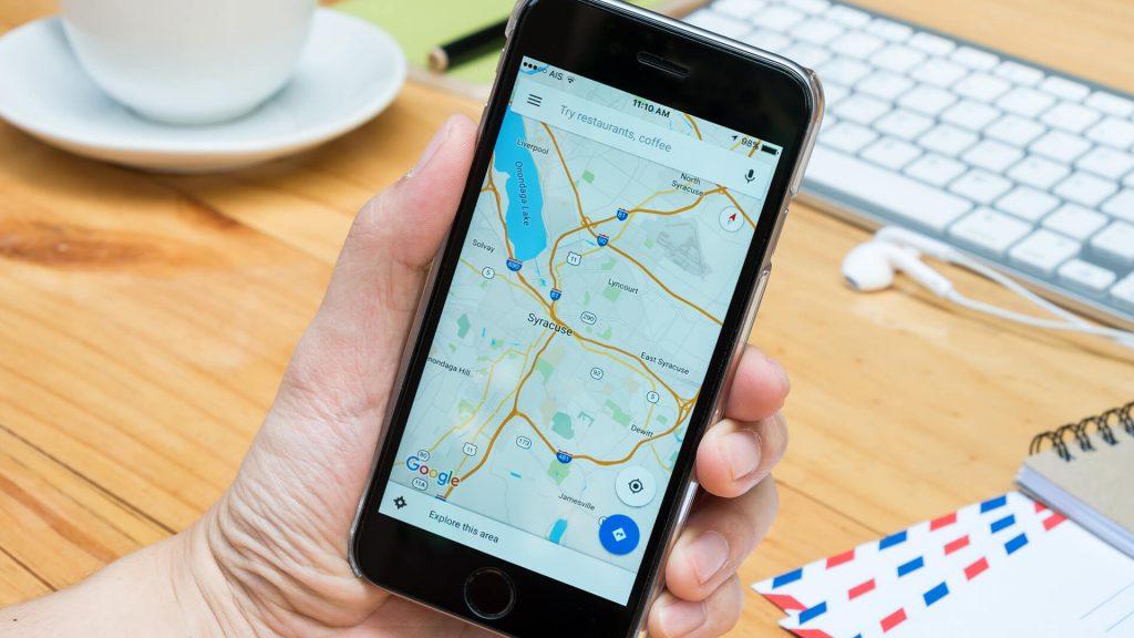 google maps app smartphone mobile ss 1920