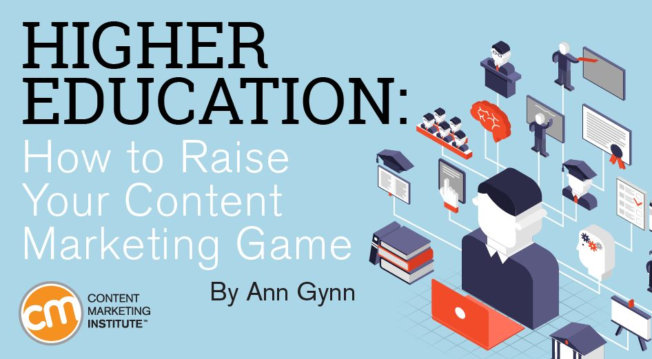 higher education content marketing game