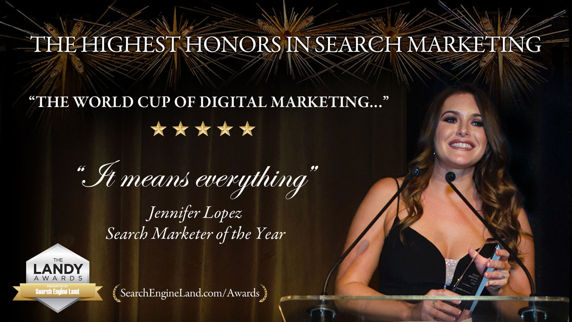 What does it mean to win a Search Engine Land Award?