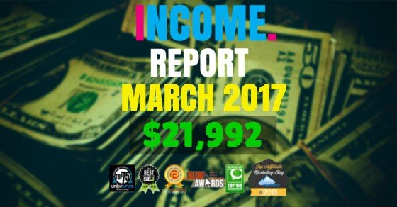 Monthly Income, Growth & Traffic Report – March 2017