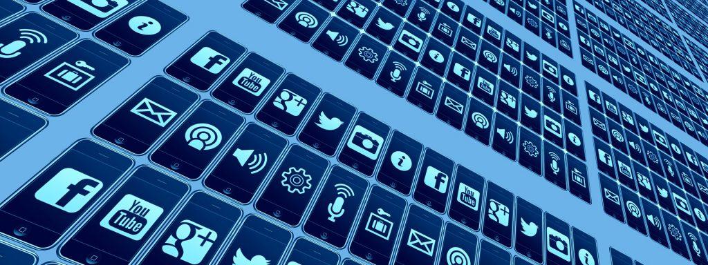mobile or social media