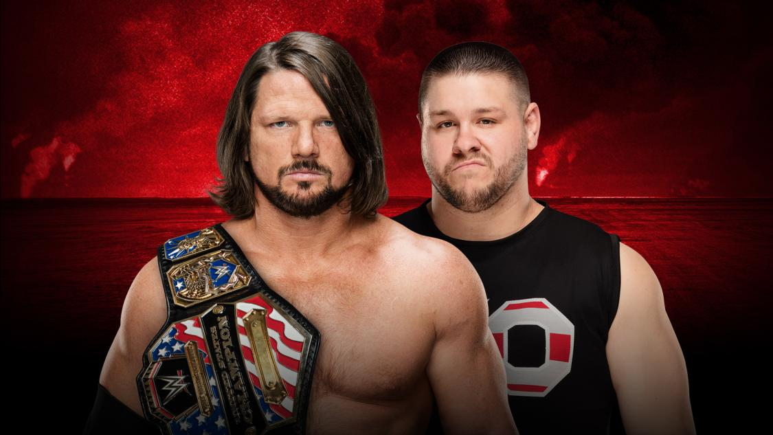 Kevin Owens Defeats AJ Styles At WWE Battleground To Become Three Time United States Champion