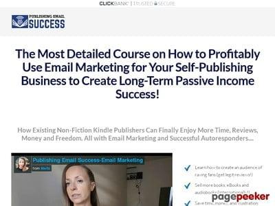 Publishing Email Success – Email Marketing for Amazon Publishers