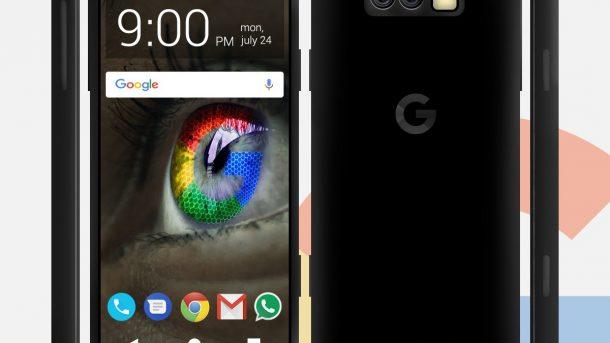 Google Pixel 2 Jet Black ValueWalk