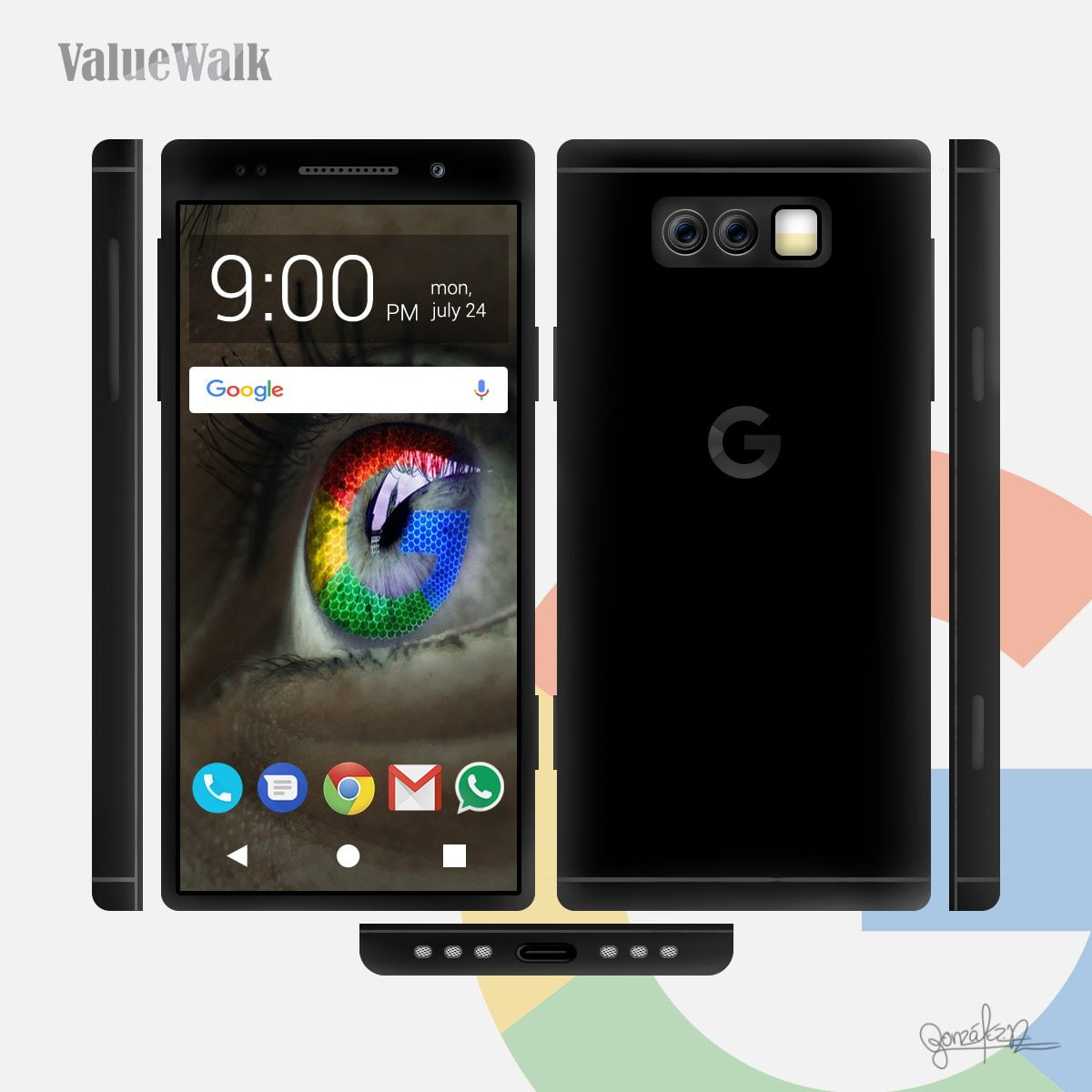 Concept Google Pixel 2 Imagines Major Design Changes