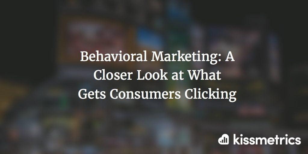 behavioral marketing cover image