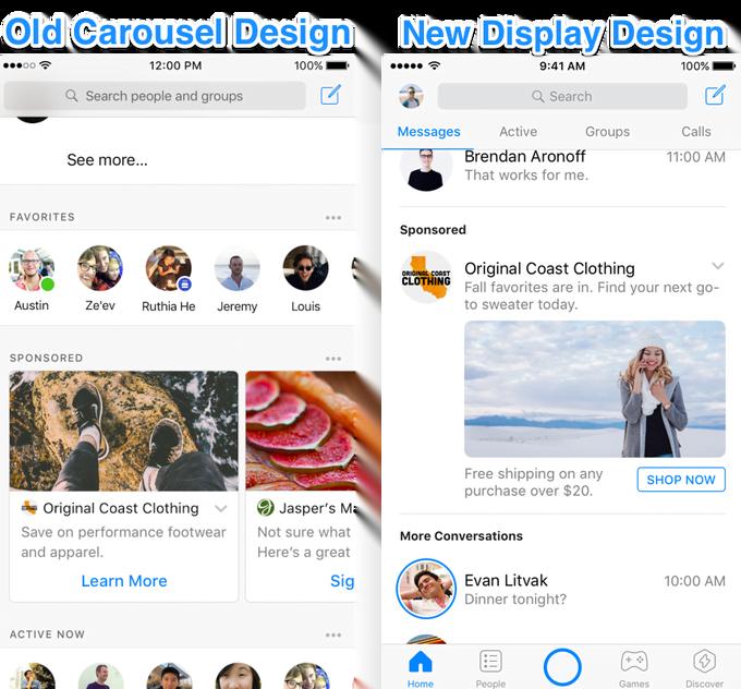 facebook messenger ads designs