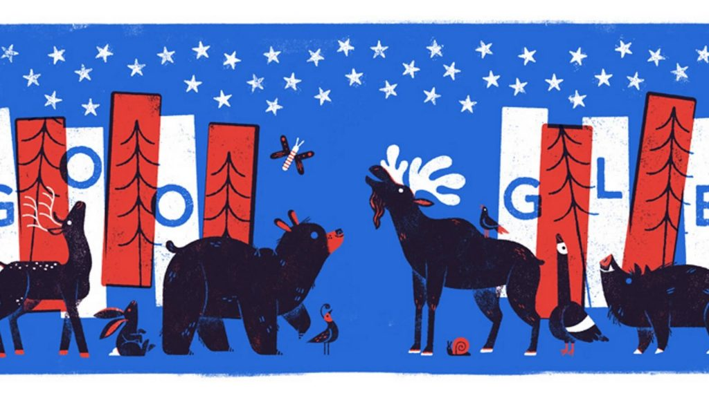 fourth of july 2017 google doodle featured