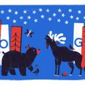 Fourth of July Google doodle inspired by U.S.'s 1st National Parks director, Stephen Mather