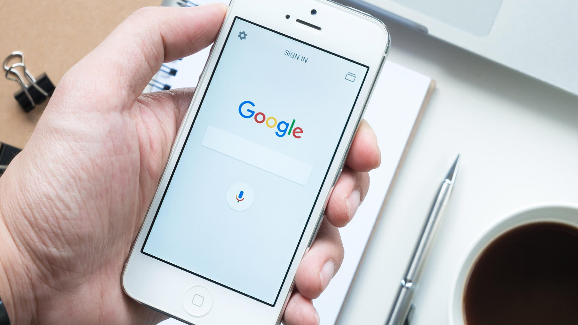 Google adds new 'save' & bookmarking feature, which you can access in a new hamburger menu