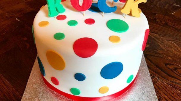 google you rock cake