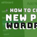 How to Create a New Page in WordPress? (New YouTube Video)