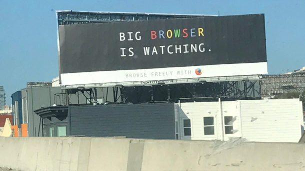 mozilla chrome billboard