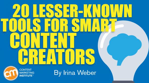 tools smart content creators