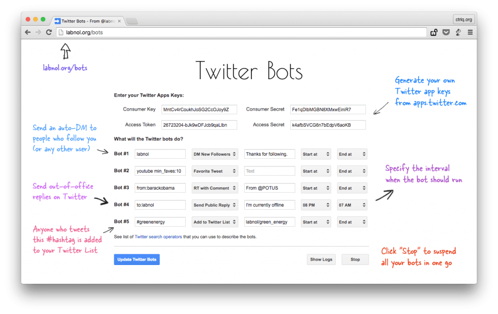 How to Write your own Twitter Bots without Code | Good To SEO