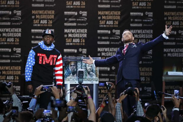 Mayweather-McGregor live stream online won't be easy to find