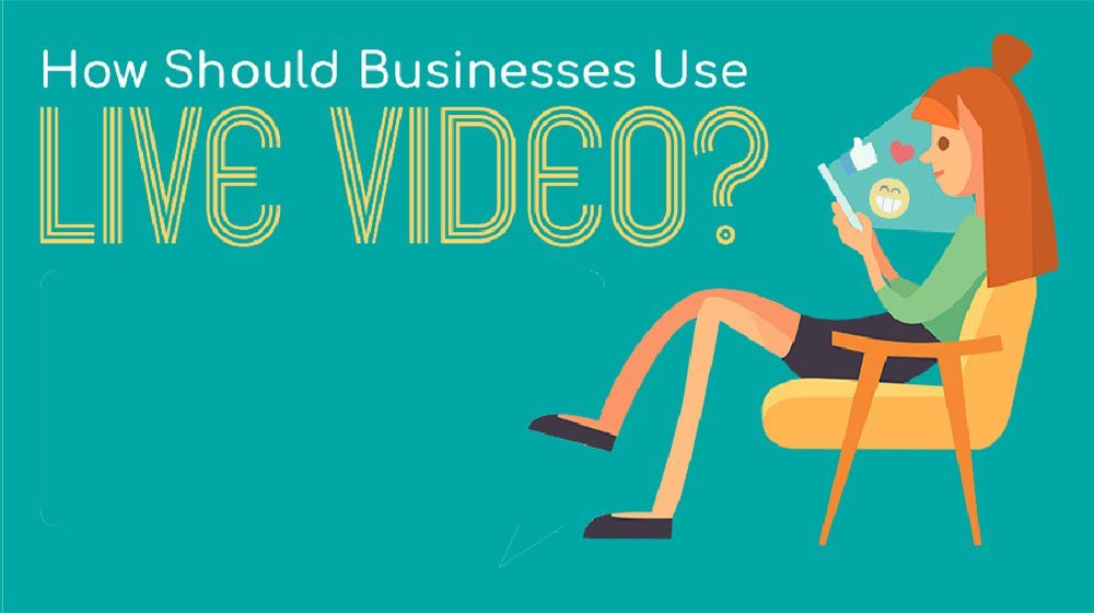 The Small Business Benefits of Using Live Video (INFOGRAPHIC)