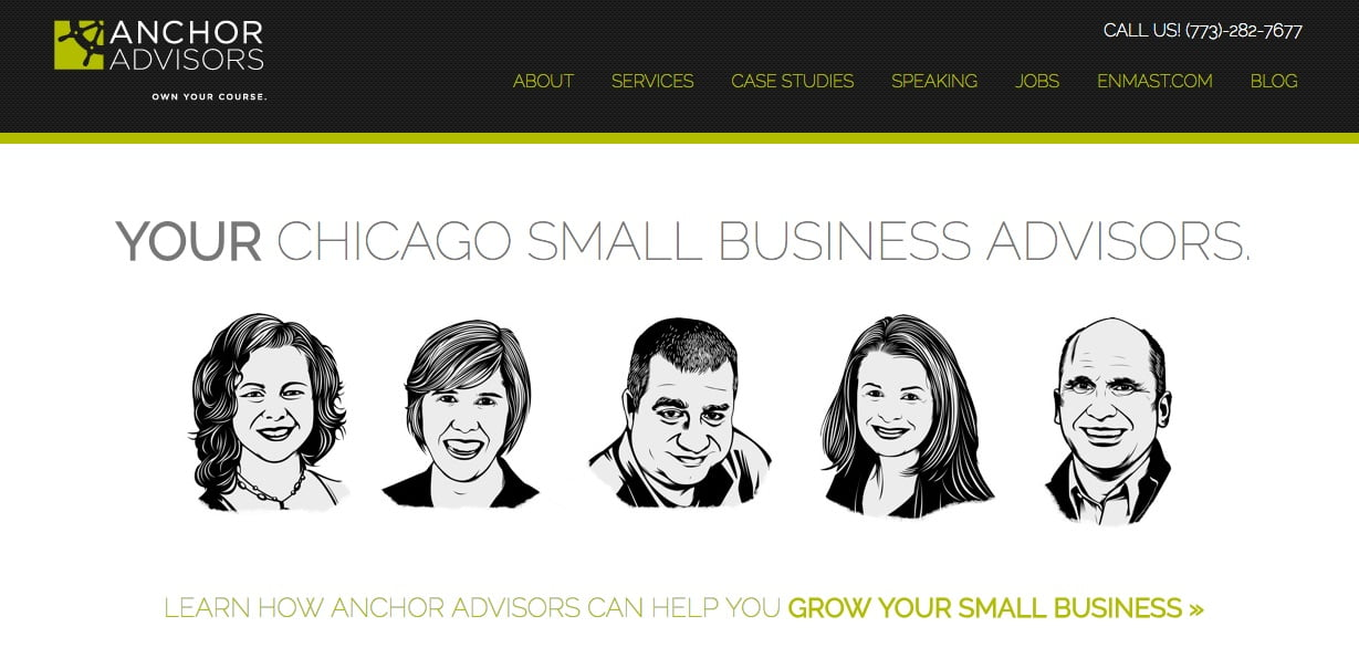 3 Examples of Professional Consulting Website and Blog Designs