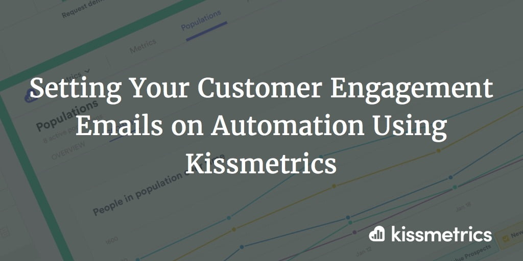 Setting Engagement Emails on Automation With Kissmetrics