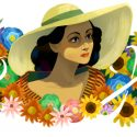 Dolores del Río Google doodle celebrates iconic film star from Golden Age of Mexican cinema