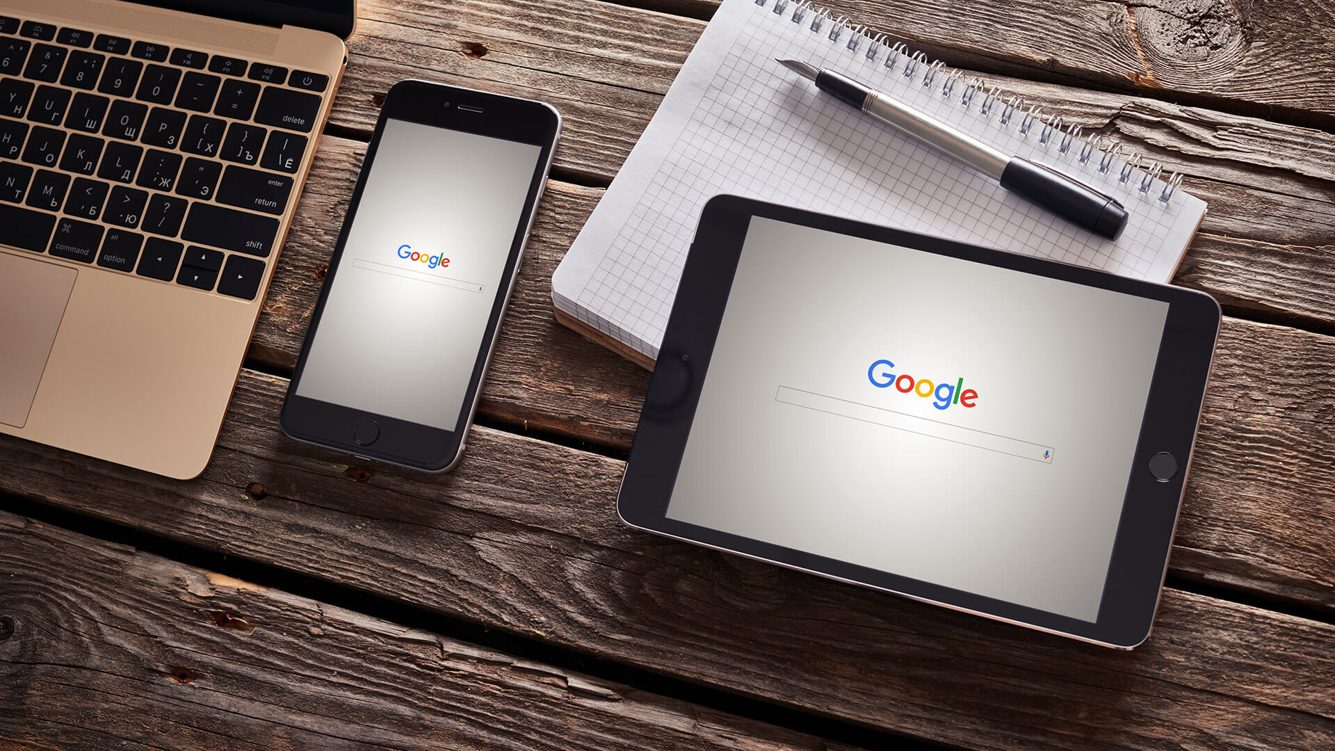57% of traffic now from smartphones and tablets