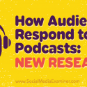 How Audiences Respond to Podcasts: New Research : Social Media Examiner