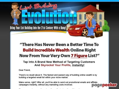 List Building Evolution