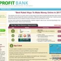 Profit Bank by Millionaire Society