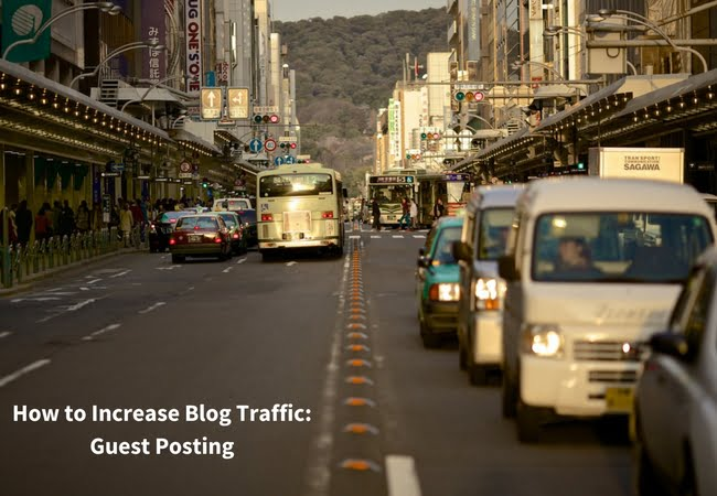 How to Increase Blog Traffic: Guest Posting
