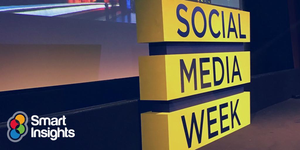 Social Media Week London 2017 recap