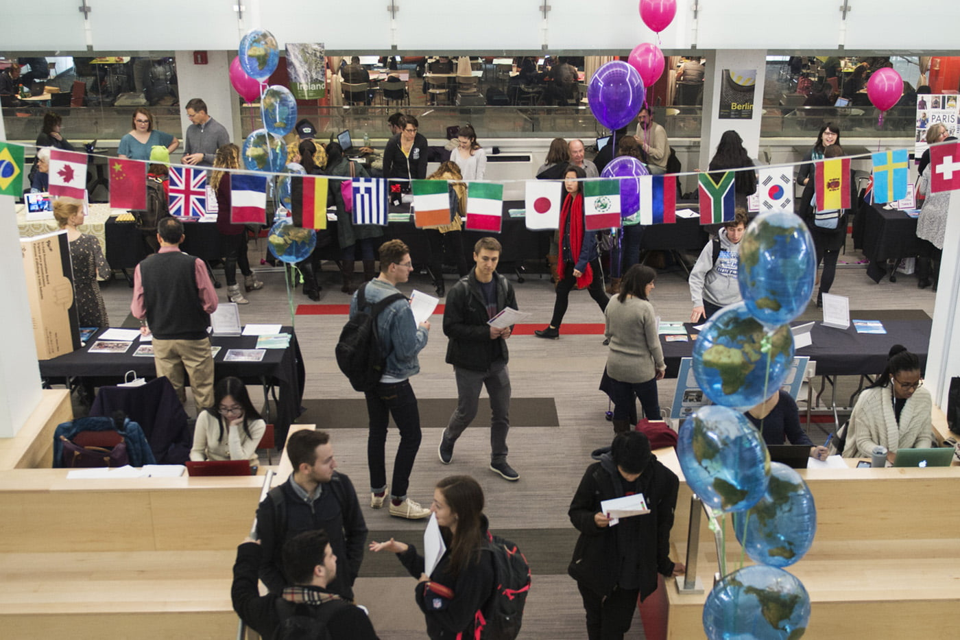 Global Co-op Fair is today. We asked students to share tips for working abroad