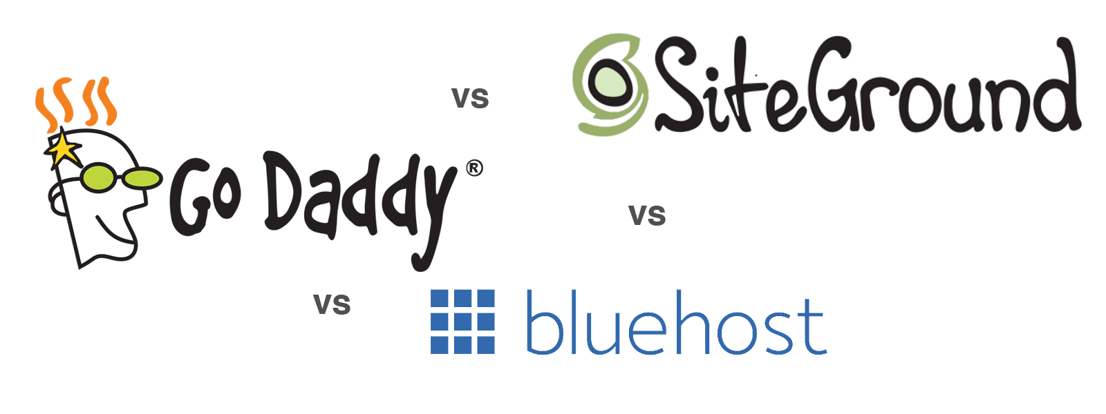 Bluehost, GoDaddy or SiteGround Comparison: Which is Best