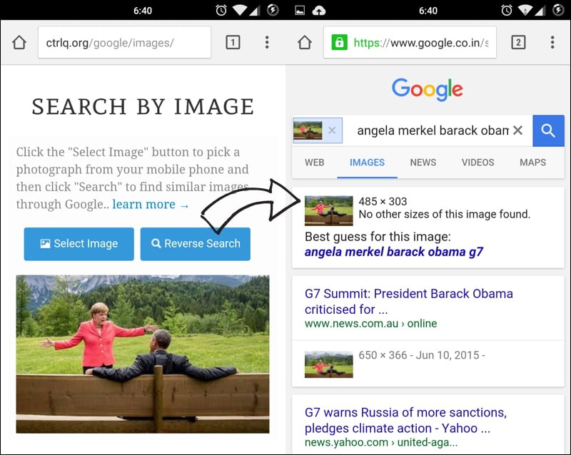 How to do Reverse Image Search on your Mobile Phone | Good ... -